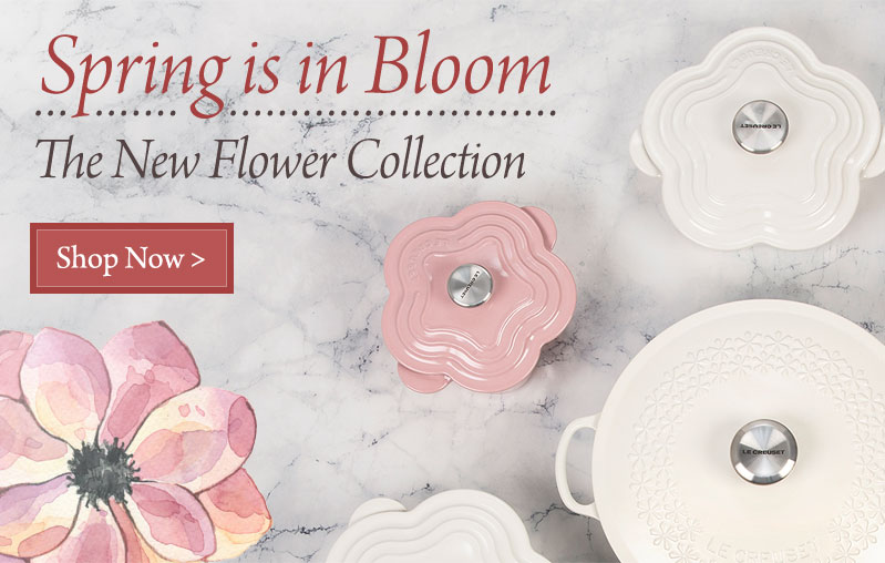 Spring is in Bloom - the new Flower Collection