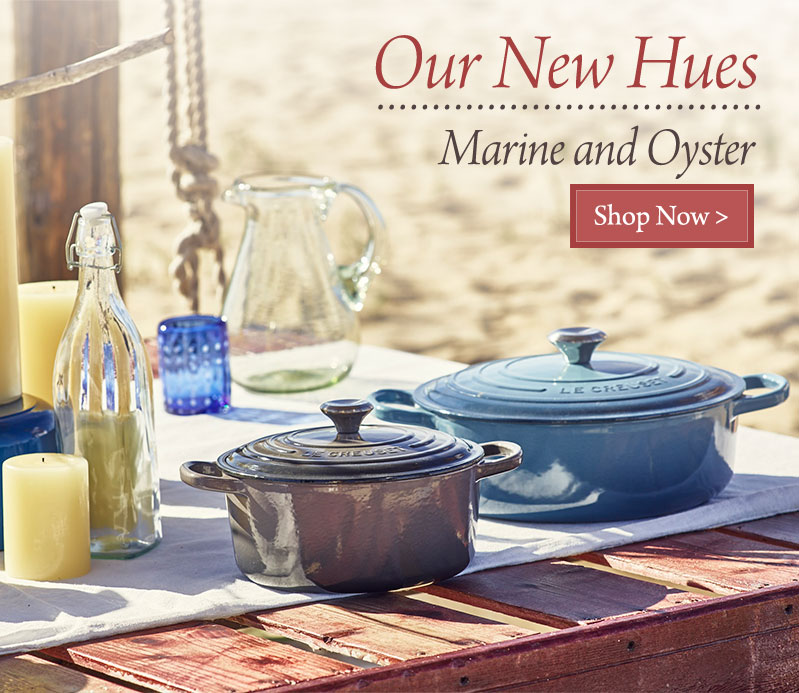 Our new hues - Marine and Oyster